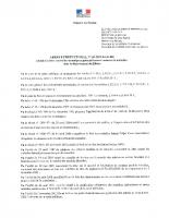 Voir l'arrêté préfectoral du 30-04-2019