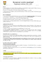 Réglement Cantine 2021/2022